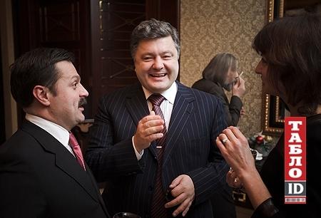 У Деркача-молодшого теплі стосунки з Петром Порошенко